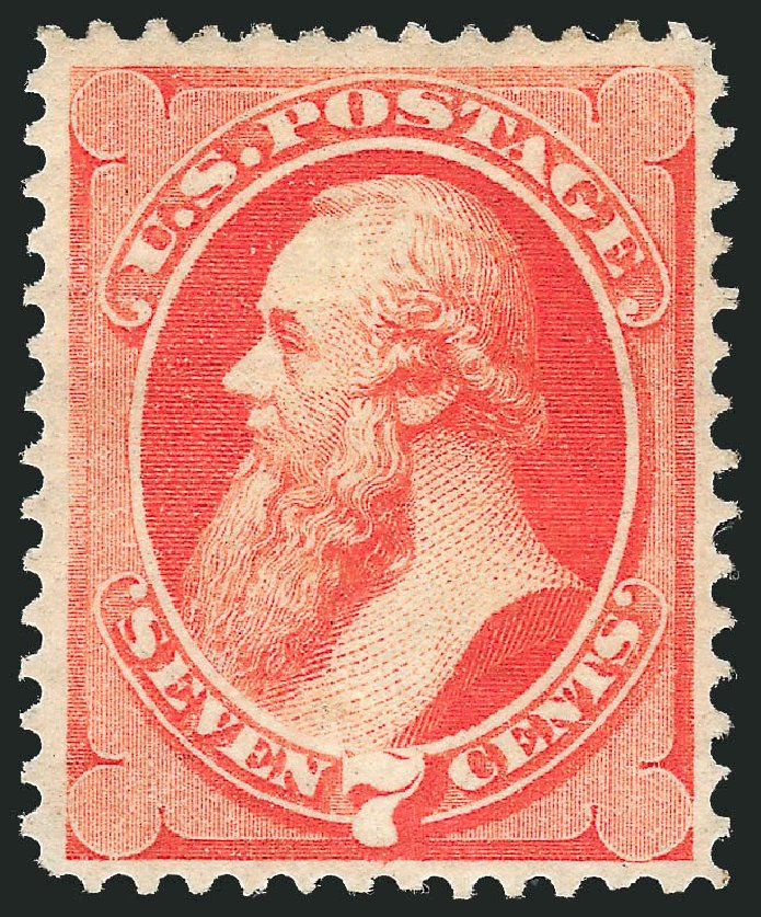 Prices of US Stamp Scott Catalogue # 149: 7c 1871 Stanton Without Grill. Robert Siegel Auction Galleries, Dec 2014, Sale 1090, Lot 1315