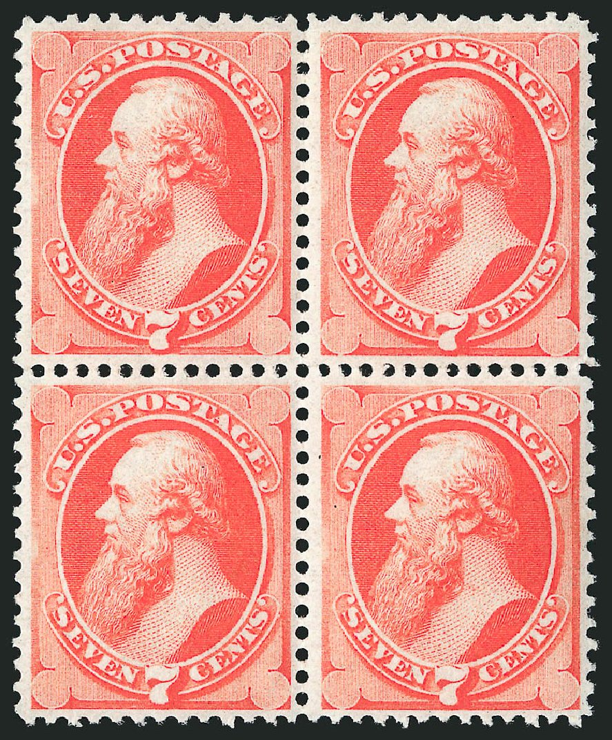 Values of US Stamp Scott Catalogue 149: 7c 1871 Stanton Without Grill. Robert Siegel Auction Galleries, Apr 2015, Sale 1096, Lot 283