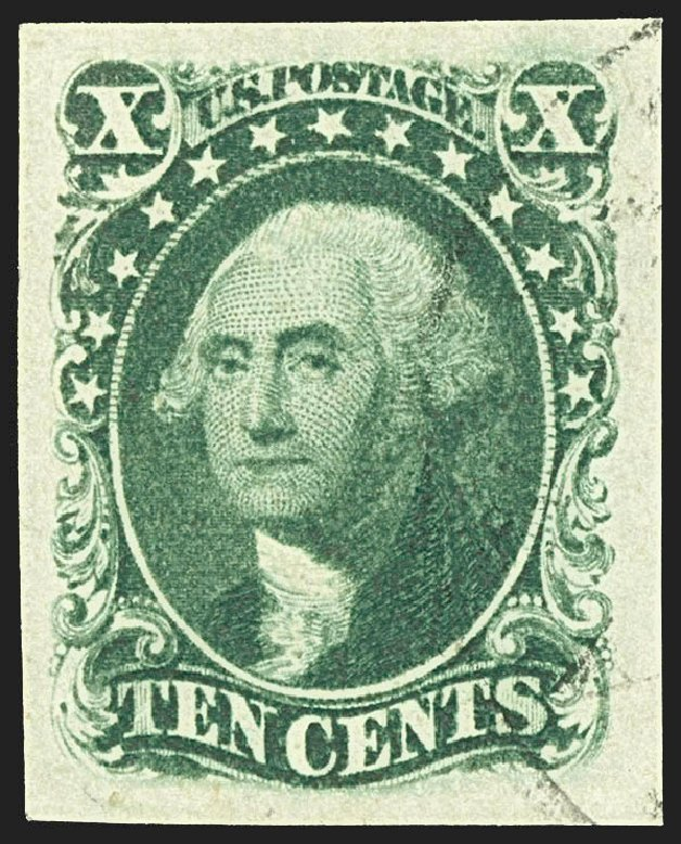 Costs of US Stamp Scott Cat. 15: 1855 10c Washington. Robert Siegel Auction Galleries, Jul 2015, Sale 1107, Lot 71