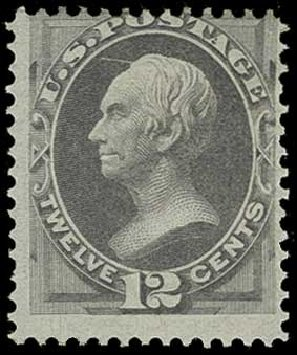 Costs of US Stamp Scott Cat. # 151 - 12c 1870 Clay Without Grill. H.R. Harmer, Jun 2015, Sale 3007, Lot 3211