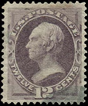 Costs of US Stamp Scott Catalog 151: 12c 1870 Clay Without Grill. Regency-Superior, Nov 2014, Sale 108, Lot 331