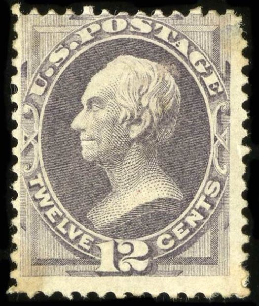 Value of US Stamp Scott Catalogue #151 - 1870 12c Clay Without Grill. Spink Shreves Galleries, Jul 2015, Sale 151, Lot 144