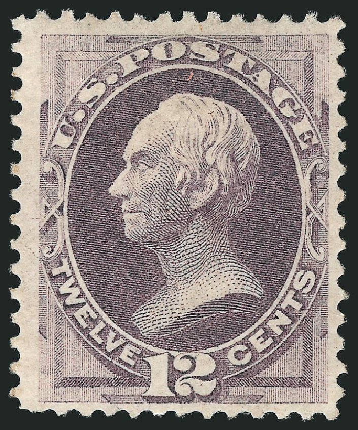 US Stamps Prices Scott Cat. #151 - 12c 1870 Clay Without Grill. Robert Siegel Auction Galleries, Apr 2015, Sale 1096, Lot 285