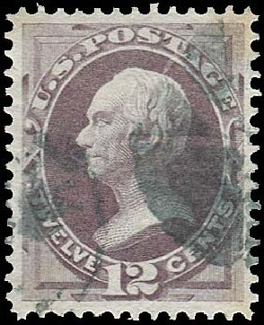 Costs of US Stamps Scott Catalog # 151: 12c 1870 Clay Without Grill. Regency-Superior, Jan 2015, Sale 109, Lot 812