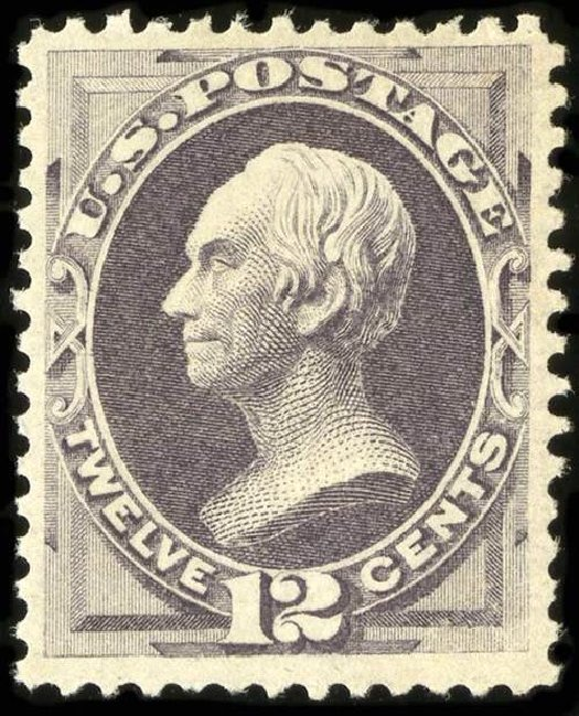 Price of US Stamp Scott Cat. # 151: 12c 1870 Clay Without Grill. Spink Shreves Galleries, Jul 2015, Sale 151, Lot 143