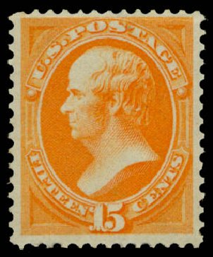 Prices of US Stamp Scott Catalogue # 152 - 15c 1870 Webster Without Grill. Daniel Kelleher Auctions, May 2015, Sale 669, Lot 2635