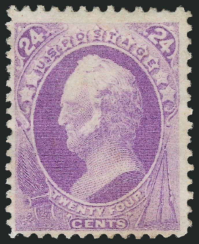 US Stamp Price Scott Cat. # 153: 24c 1870 Winfield Scott Without Grill. Robert Siegel Auction Galleries, Jul 2015, Sale 1107, Lot 271