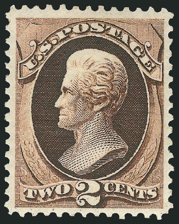 Prices of US Stamps Scott Catalogue 157: 1873 2c Jackson Continental. Robert Siegel Auction Galleries, Apr 2015, Sale 1096, Lot 298