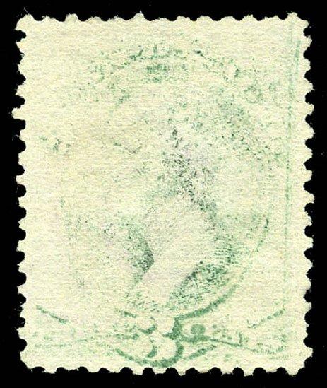 US Stamps Price Scott Catalog 158 - 1873 3c Washington Continental. Matthew Bennett International, Feb 2015, Sale 351, Lot 124