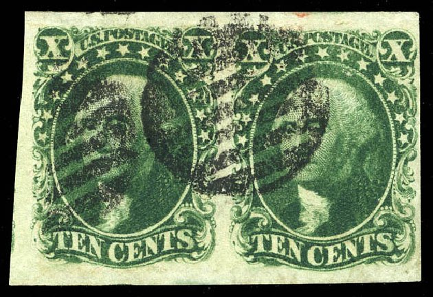 US Stamp Prices Scott Cat. #16 - 10c 1855 Washington. Matthew Bennett International, Feb 2015, Sale 351, Lot 35
