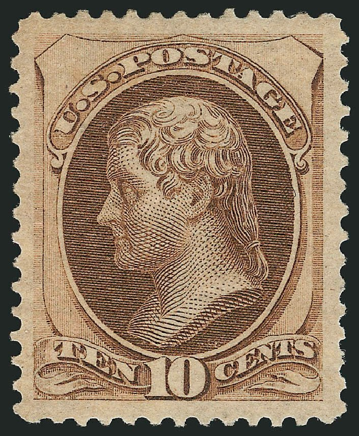 Cost of US Stamp Scott 161: 10c 1873 Jefferson Continental. Robert Siegel Auction Galleries, Apr 2015, Sale 1096, Lot 302