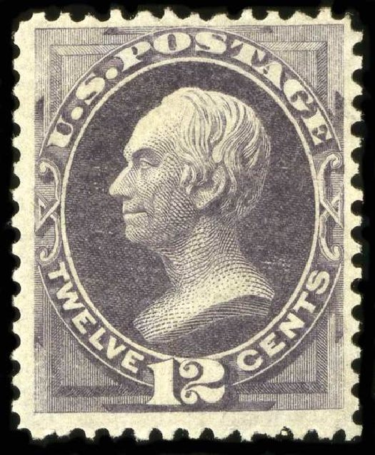 Value of US Stamp Scott # 162: 1873 12c Clay Continental. Spink Shreves Galleries, Jul 2015, Sale 151, Lot 151