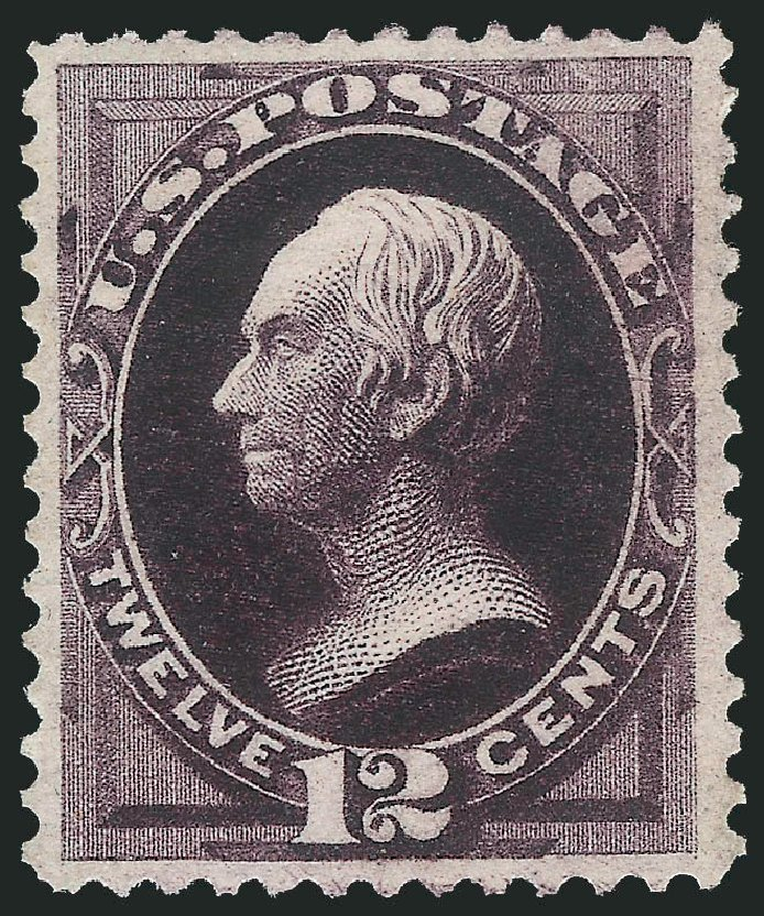 US Stamps Price Scott Catalogue 162: 12c 1873 Clay Continental. Robert Siegel Auction Galleries, Apr 2015, Sale 1096, Lot 303