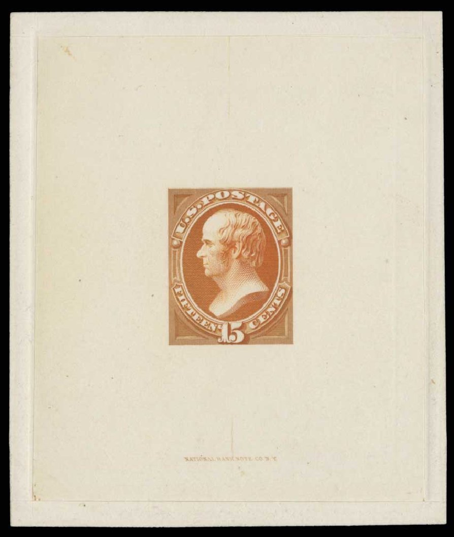 Costs of US Stamp Scott Catalog 163: 15c 1873 Webster Continental. H.R. Harmer, May 2014, Sale 3005, Lot 1005