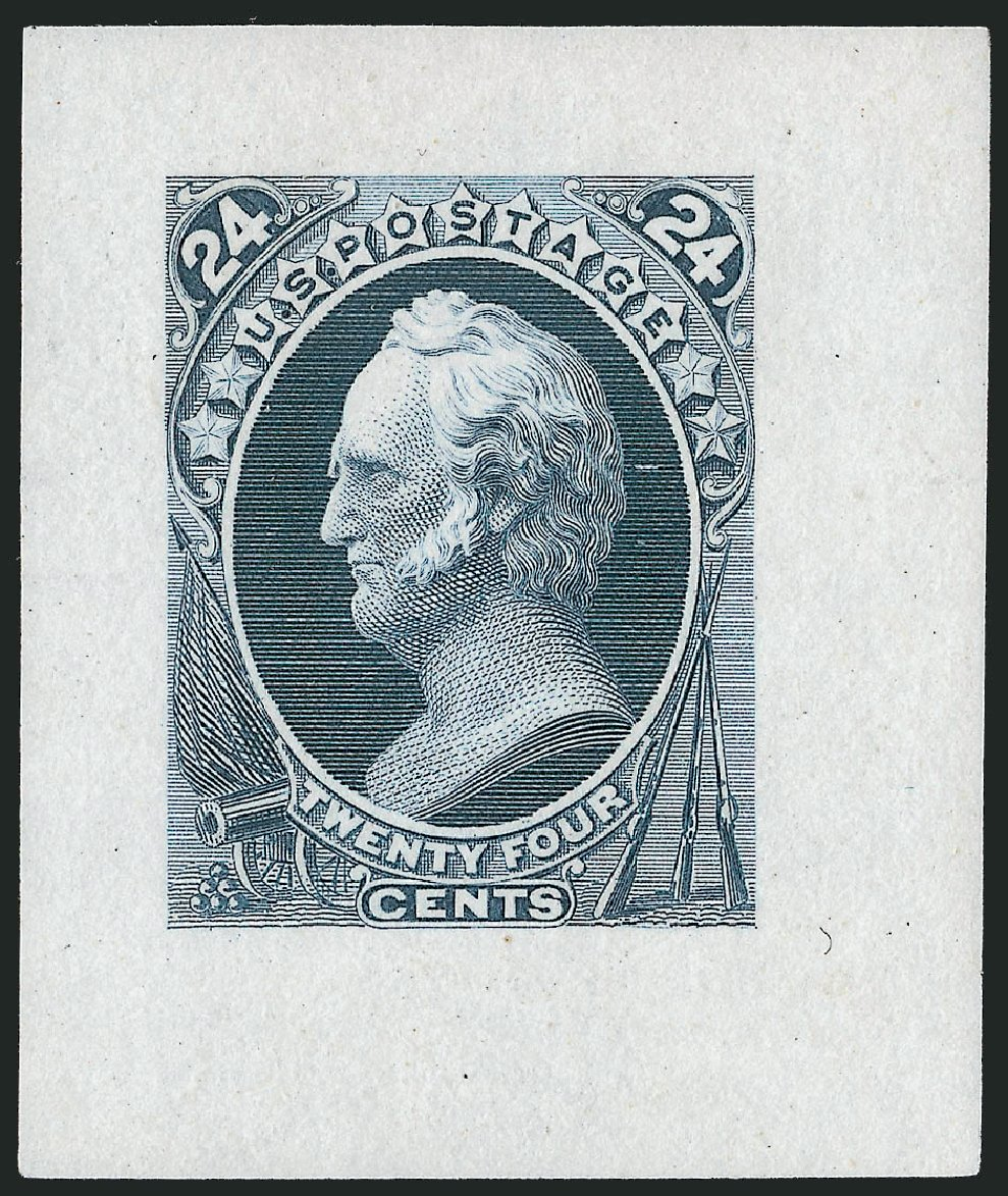 Values of US Stamp Scott Catalogue #164: 24c 1873 Winfield Scott Continental. Robert Siegel Auction Galleries, Dec 2012, Sale 1037, Lot 1159