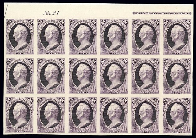 Prices of US Stamps Scott 164 - 24c 1873 Winfield Scott Continental. Matthew Bennett International, Dec 2008, Sale 330, Lot 1661