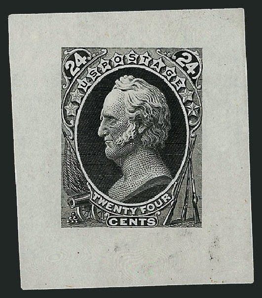Cost of US Stamp Scott Catalog #164: 24c 1873 Winfield Scott Continental. Robert Siegel Auction Galleries, Sep 2008, Sale 962, Lot 2093