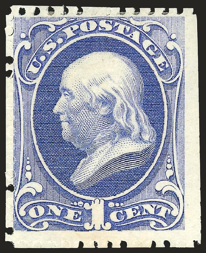 Cost of US Stamp Scott #167 - 1875 1c Franklin Special Printing. Robert Siegel Auction Galleries, Apr 2009, Sale 972, Lot 3168