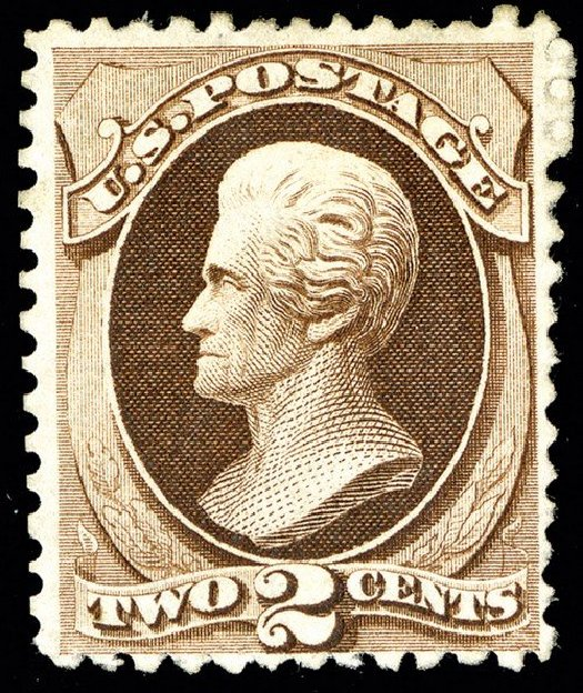 US Stamp Prices Scott Cat. 168: 2c 1875 Jackson Special Printing. Spink Shreves Galleries, May 2014, Sale 148, Lot 177