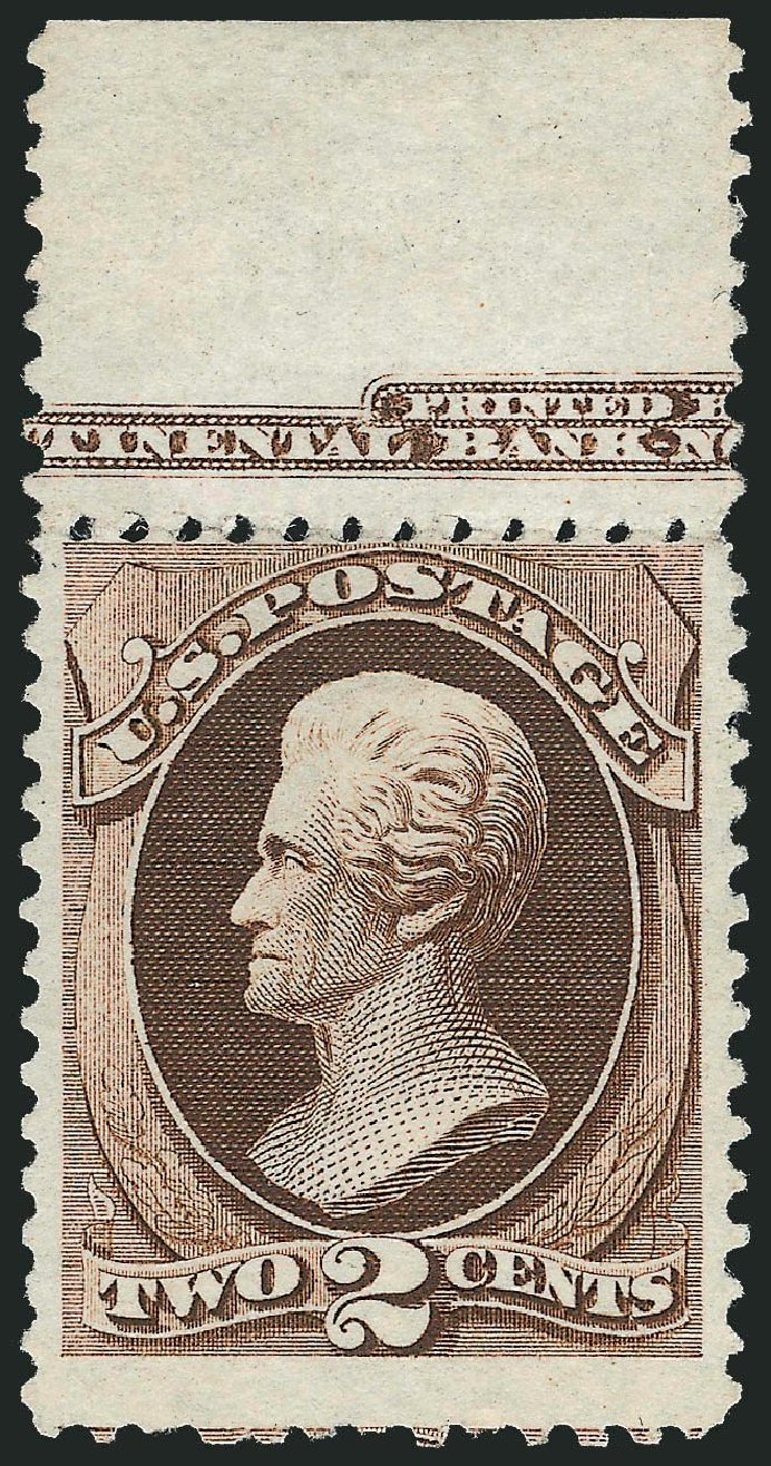 Costs of US Stamp Scott Catalog 168: 1875 2c Jackson Special Printing. Robert Siegel Auction Galleries, Nov 2013, Sale 1057, Lot 751