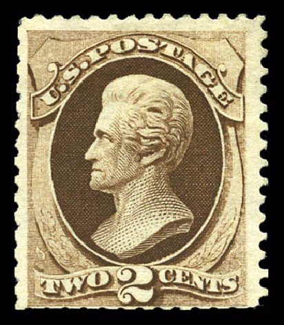 Prices of US Stamps Scott Cat. 168: 1875 2c Jackson Special Printing. Matthew Bennett International, Mar 2011, Sale 336, Lot 1204