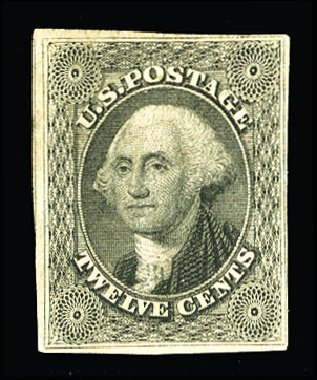 Price of US Stamp Scott Cat. #17: 12c 1851 Washington. Cherrystone Auctions, Jul 2015, Sale 201507, Lot 2014