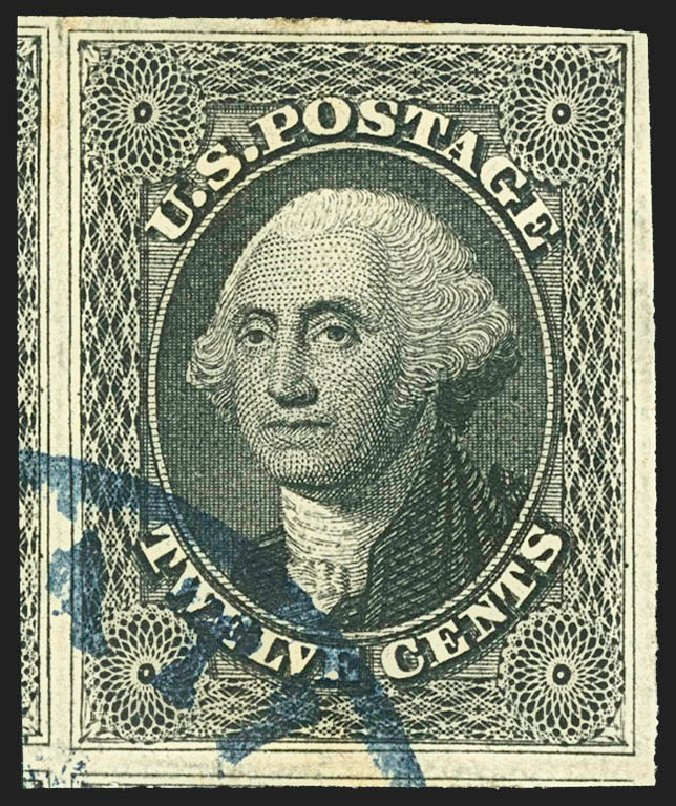 Prices of US Stamps Scott 17: 1851 12c Washington. Robert Siegel Auction Galleries, Jul 2015, Sale 1107, Lot 74