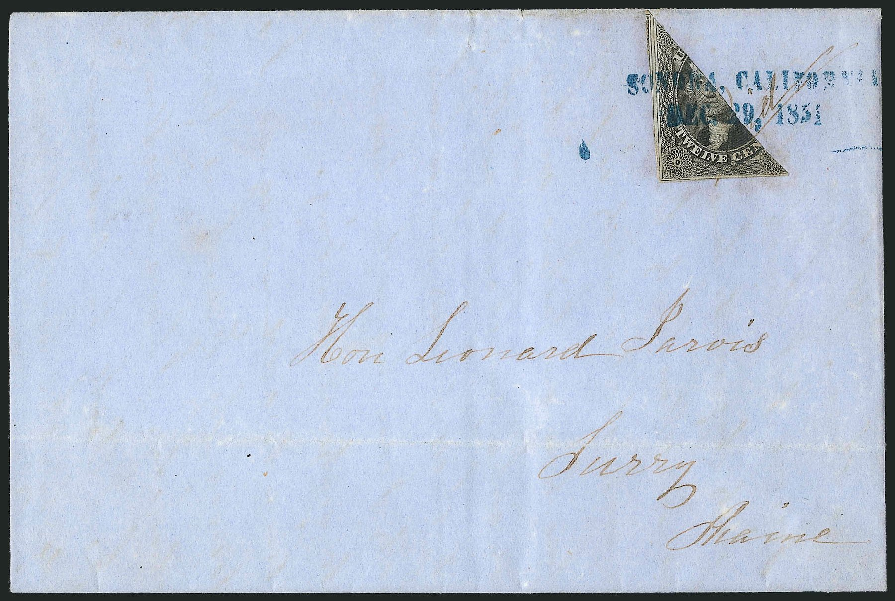 Value of US Stamp Scott Cat. #17 - 12c 1851 Washington. Robert Siegel Auction Galleries, Jun 2015, Sale 1106, Lot 3035
