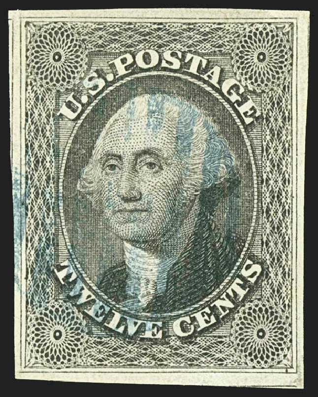 Price of US Stamp Scott Catalogue # 17 - 12c 1851 Washington. Robert Siegel Auction Galleries, Jul 2015, Sale 1107, Lot 76