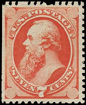 Costs of US Stamps Scott Catalog #171 - 1875 7c Stanton Special Printing. Regency-Superior, Aug 2015, Sale 112, Lot 330