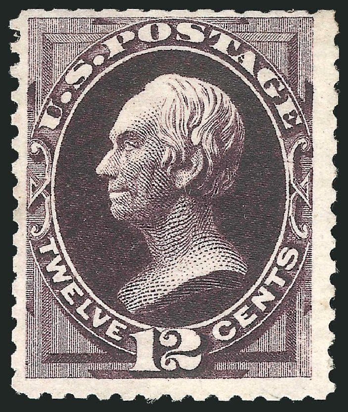 US Stamps Price Scott Catalogue 173: 12c 1875 Clay Special Printing. Robert Siegel Auction Galleries, Nov 2013, Sale 1057, Lot 757