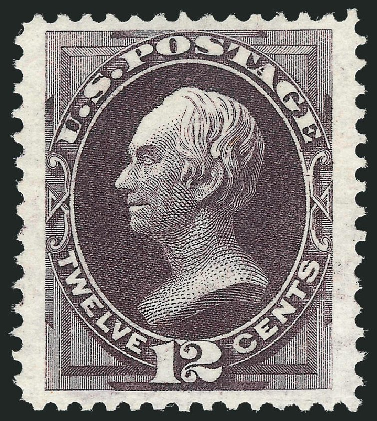 Costs of US Stamp Scott Catalogue 173 - 1875 12c Clay Special Printing. Robert Siegel Auction Galleries, Dec 2012, Sale 1036, Lot 120