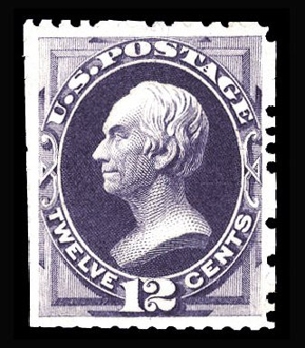 US Stamps Value Scott Catalogue # 173: 12c 1875 Clay Special Printing. Cherrystone Auctions, Jan 2015, Sale 201501, Lot 154