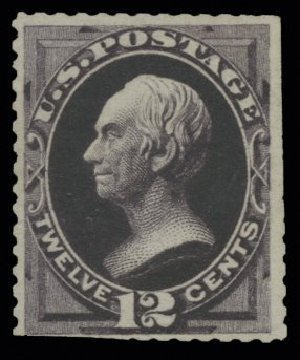Price of US Stamp Scott Cat. 173: 12c 1875 Clay Special Printing. H.R. Harmer, May 2014, Sale 3005, Lot 1136