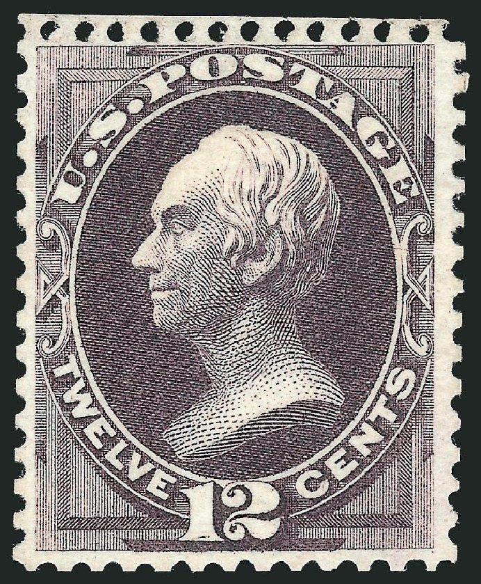 Value of US Stamp Scott Catalogue #173: 12c 1875 Clay Special Printing. Robert Siegel Auction Galleries, Nov 2013, Sale 1057, Lot 756