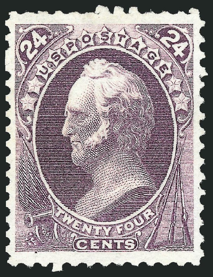 Cost of US Stamp Scott # 175 - 24c 1875 Winfield Scott Special Printing. Robert Siegel Auction Galleries, Dec 2014, Sale 1090, Lot 1338