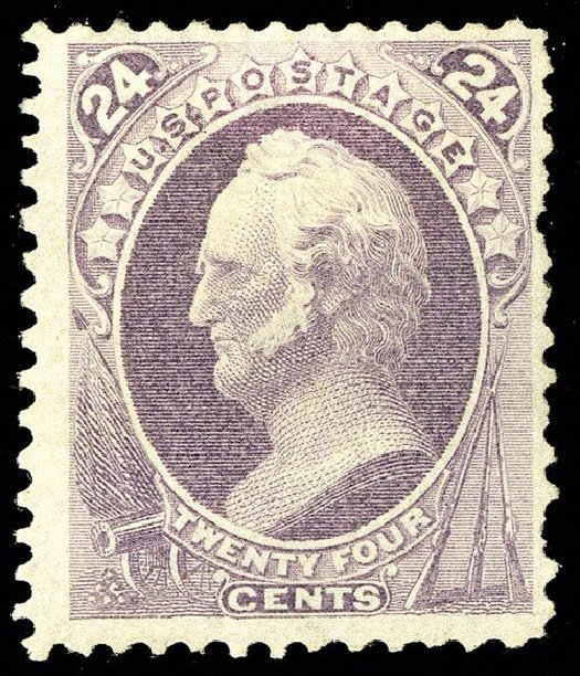 US Stamp Prices Scott Catalogue #175: 24c 1875 Winfield Scott Special Printing. Spink Shreves Galleries, May 2014, Sale 148, Lot 178