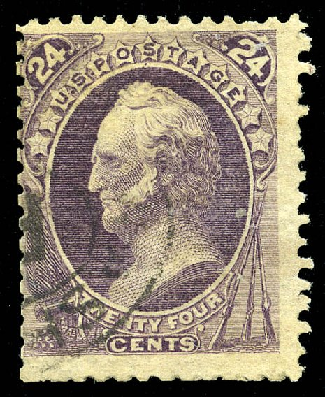 Price of US Stamps Scott Catalog # 175 - 24c 1875 Winfield Scott Special Printing. Matthew Bennett International, Feb 2015, Sale 351, Lot 129