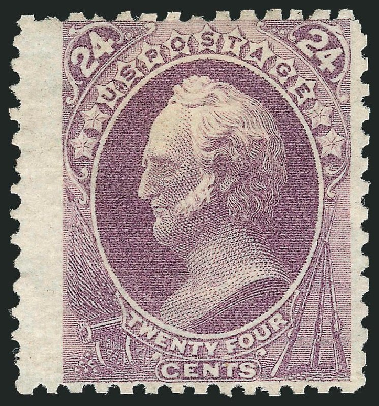 Price of US Stamp Scott Catalog # 175: 24c 1875 Winfield Scott Special Printing. Robert Siegel Auction Galleries, Nov 2013, Sale 1057, Lot 759