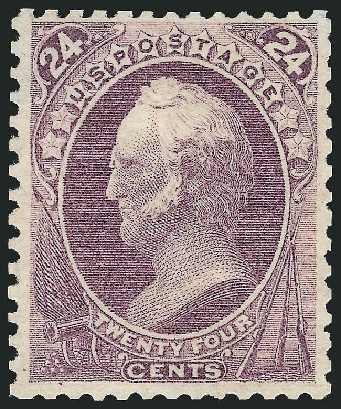 Price of US Stamps Scott Cat. # 175 - 1875 24c Winfield Scott Special Printing. Robert Siegel Auction Galleries, Apr 2015, Sale 1096, Lot 320