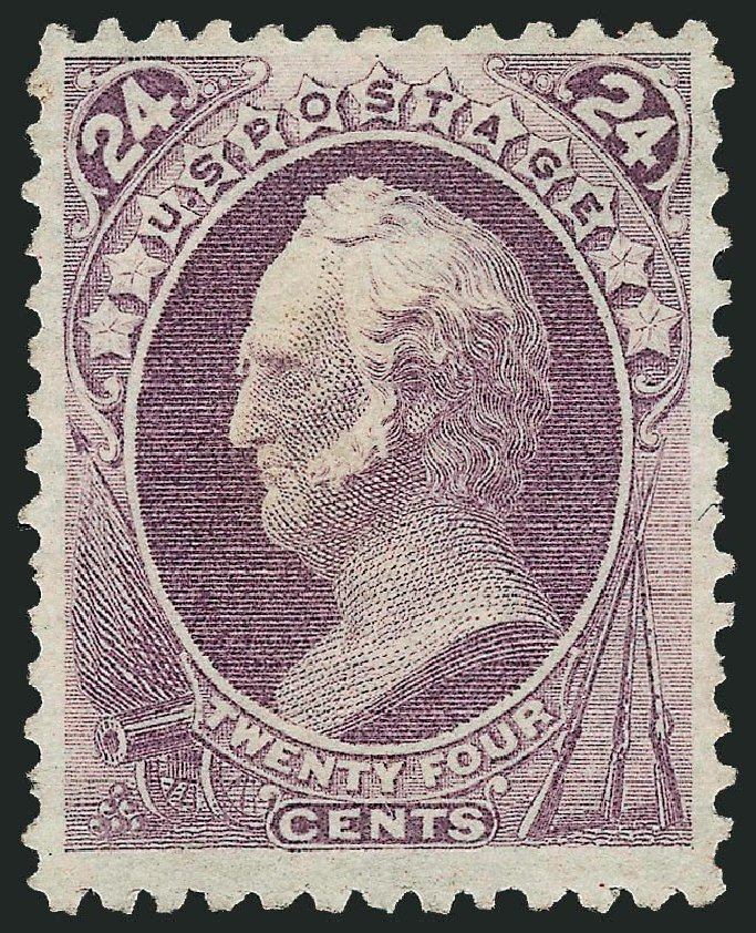 Prices of US Stamps Scott Catalogue # 175: 24c 1875 Winfield Scott Special Printing. Robert Siegel Auction Galleries, Sep 2014, Sale 1078, Lot 311