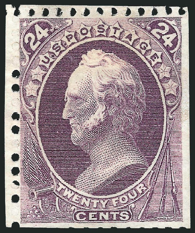 Values of US Stamps Scott #175: 24c 1875 Winfield Scott Special Printing. Robert Siegel Auction Galleries, Dec 2012, Sale 1037, Lot 1742