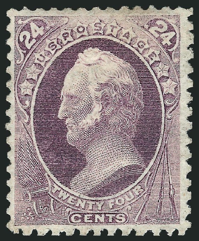 Costs of US Stamp Scott #175: 24c 1875 Winfield Scott Special Printing. Robert Siegel Auction Galleries, Mar 2013, Sale 1040, Lot 1432