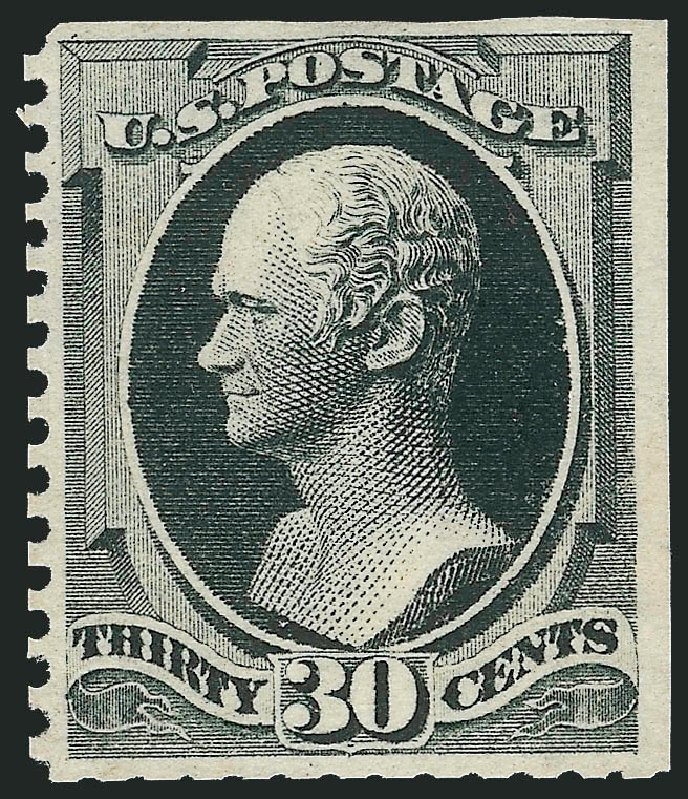 Prices of US Stamp Scott Cat. #176 - 30c 1875 Hamilton Special Printing. Robert Siegel Auction Galleries, Apr 2015, Sale 1096, Lot 321