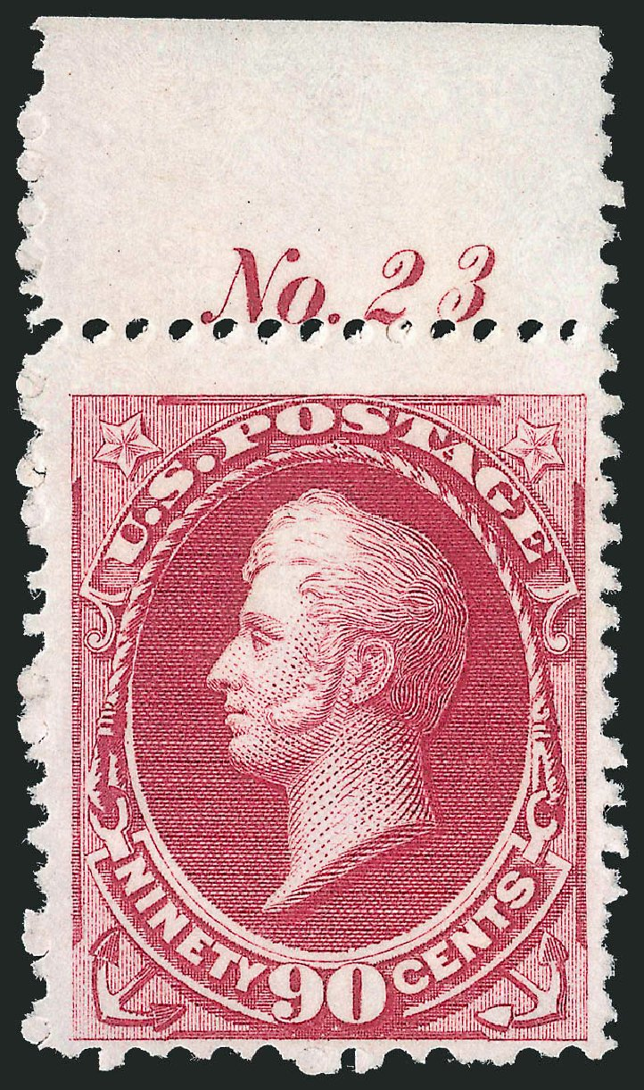 Costs of US Stamps Scott # 177 - 1875 90c Perry Special Printing. Robert Siegel Auction Galleries, Oct 2012, Sale 1033, Lot 4104