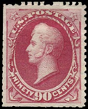 Cost of US Stamps Scott # 177: 1875 90c Perry Special Printing. Regency-Superior, Aug 2015, Sale 112, Lot 333