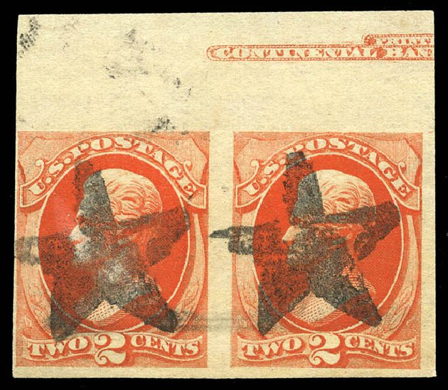 Value of US Stamp Scott Catalog # 178: 2c 1875 Jackson Continental. Matthew Bennett International, Feb 2015, Sale 351, Lot 130