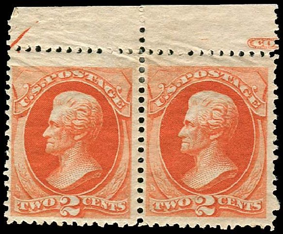 Values of US Stamp Scott Catalogue # 178: 2c 1875 Jackson Continental. Regency-Superior, Nov 2014, Sale 108, Lot 360