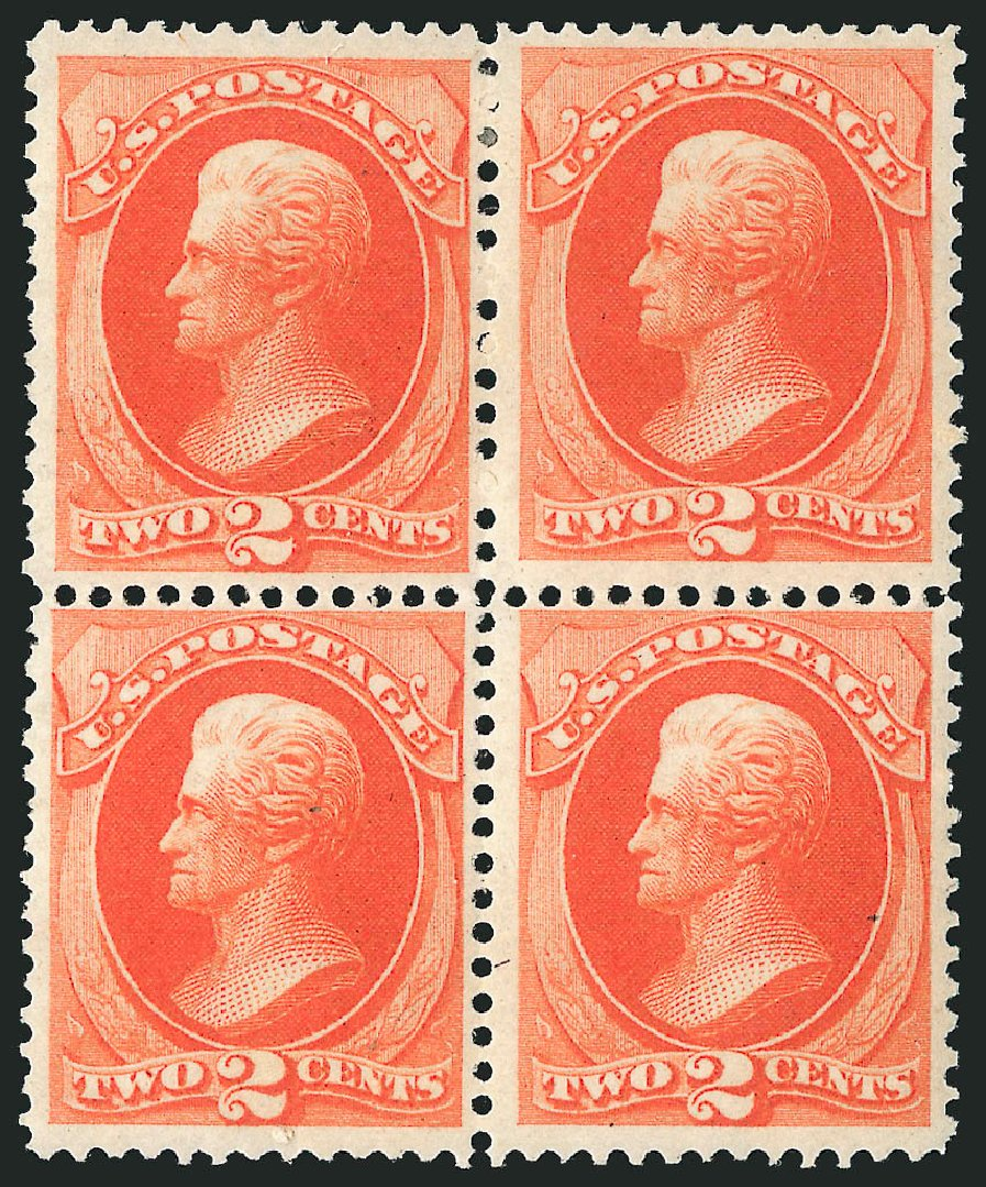 Price of US Stamps Scott # 178 - 2c 1875 Jackson Continental. Robert Siegel Auction Galleries, Apr 2015, Sale 1096, Lot 310