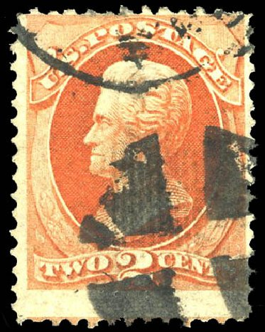 US Stamp Prices Scott Catalog #178 - 2c 1875 Jackson Continental. Matthew Bennett International, Feb 2015, Sale 351, Lot 131